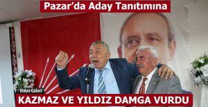 bPazarda CHP Aday tanıtımına bu.../b