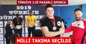 bPazarlı Sporcu Milli Takıma seçildi/b