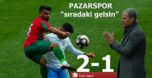 Pazarspor 2-Karşıyaka 1-  Sıradaki gelsin