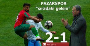 bPazarspor 2-Karşıyaka 1- Sıradaki.../b
