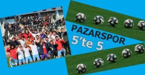 SULTANBEYLİ BELEDİYESPOR:1 - PAZARSPOR:2