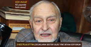b92 Yaşında Esnaflık yapan Eyüpreisoğlu.../b
