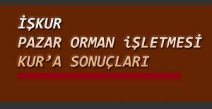 bİşkur Pazar Orman İşletme Müdürlüğü.../b