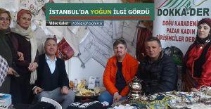bPazar DOKKA-DER İstanbulda ilgi.../b