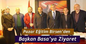 bPazar Eğitim Birsenden Başkan.../b