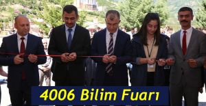 ARTVİN'DE TUBİTAK 4006 BİLİM FUARI AÇILDI