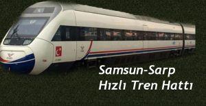 bSamsun-Batum Demir yolu Hız kazanmalıdır./b