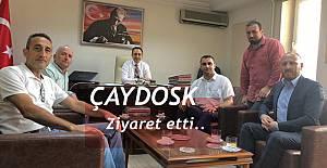 ÇAYDOSK'TAN VALİ YARDIMCISINA ZİYARET