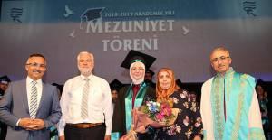 Recep Tayyip Erdoğan Üniversitesi Mezuniyet Töreni Düzenlendi