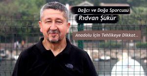 """Rıdvan Şükür. """"Çölleşme ve kuraklık Anadolu İçin büyük tehdit"""""""