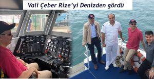 Vali Çeber, Sahil Güvenlik Komutanlığını Ziyaret Ederek İncelemelerde Bulundu