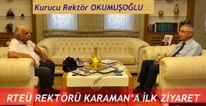 Kurucu Rektörden RTEÜ Üniversitesine  Ziyaret