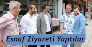 Milletvekili Avcı ve İl Başkanı Alim'den Esnaf Ziyareti