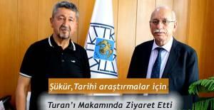 bRıdvan Şükür, Türk Tarih Kurumunda./b