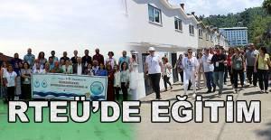 RTEÜ Ev Sahipliğinde Öğretmenlere Su Okuryazarlığı Eğitimi-II Projesi Gerçekleştirildi