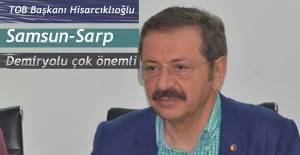 Samsun-Sarp Demiryolu için Ardeşen'den Çağrıda bulundu