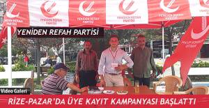 bYeniden Refah Partisi Rize-Pazar İlçe.../b
