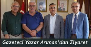 Gazeteci Yazar Sabri Arıman, Vali Çeber'i Ziyaret Etti