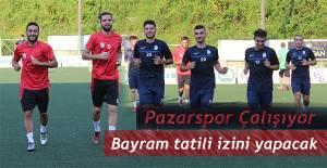 Pazarspor 'da Bayram Tatili