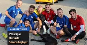 Pazarspor Sezonu Bursa'da açacak