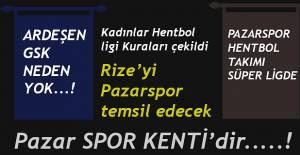 Hentbolda 2019-2020 sezonu Erkekler ve Kadınlar Süper Lig fikstür çekimi yapıldı.