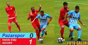 Pazarspor kendi evinde Halide Edip Adıvar'ı konuk etti.