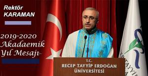 Prof Dr. Hüseyin Karaman'dan Mesaj