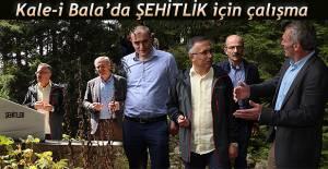 Vali Kemal Çeber Kale-İ Bala'yı Ziyaret Etti