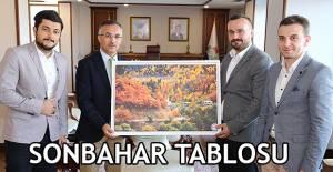 Genç Memur-Sen Rize Şubesi Başkanı, Vali Çeber'i Ziyaret Etti