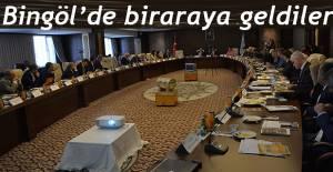 İhtisas Üniversitesi Rektörleri Bingöl'de Bir Araya Geldi