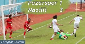 Pazarspor evinde 3-1 Mağlup oldu.