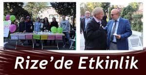 Rize'de '10 Ekim Dünya Ruh Sağlığı Günü' etkinlikleri