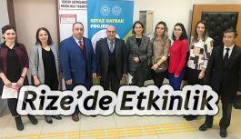 """Rize'de """"Dünya Diyabet Günü"""" etkinlikleri"""