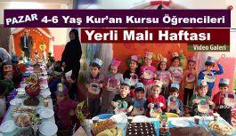 Minikler Yerli Malı Haftası Kutladı