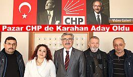Pazar CHP'de Yeni Başkan adayı