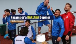 Pazarspor'a BAKLAVA Dopingi