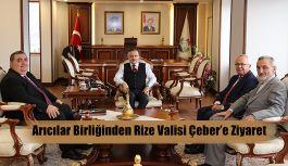 Arıcılar Birliği Genel Başkanı'ndan Vali Çeber'e Ziyaret