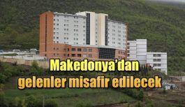 Makedonya'dan gelenlere yer tahsis ediliyor