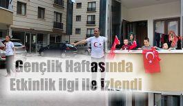 GENÇLİK HAFTASINA ÖZEL SOSYAL MESAFELİ SPOR