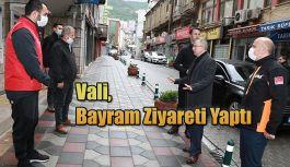 VEFA SOSYAL DESTEK GRUBU ÇALIŞANLARINA BAYRAM ZİYARETİ