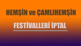 Festivaller İptal