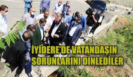 Milletvekili Avcı ve İl Başkanı Alim İyidere'de