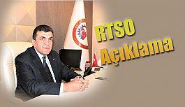RTSO'dan Basın Açıklaması