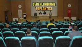 SPOR HİZMETLERİ BİRİMİ DEĞERLENDİRME TOPLANTISI YAPILDI