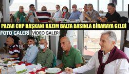 CHP Pazar İlçe Başkanı Kazım Balta'dan açıklamalar