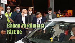 İçişleri Bakan Yardımcısı Tayyip Sabri Erdil, Uygulama Noktalarını Ziyaret Etti