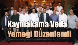 KAYMAKAMI AKPINAR'A VEDA GECESİ DÜZENLENDİ
