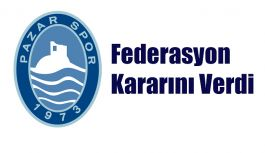 Pazarspor, Antalya'da Play Off Maçları Oynayacak