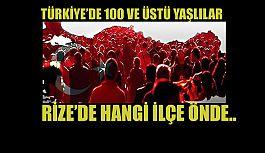 Türkiye'de 100 yaşın üzerinde kaliteli yaşam süren insanlar da var.