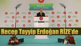 """Cumhurbaşkanı Erdoğan """"""""RİZE-ARTVİN HAVALİMANI'NIN İNŞAATI HIZLA DEVAM EDİYOR"""""""
